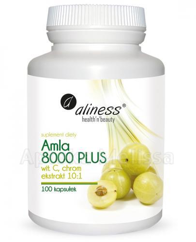ALINESS Amla 8000 Plus - 100 kaps. Wsparcie w procesie odchudzania i oczyszczania organizmu. - Apteka internetowa Melissa