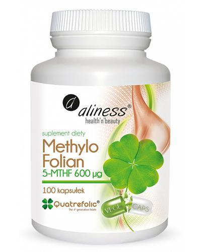 ALINESS Methylo Folian 600 - 100 kaps. - Apteka internetowa Melissa
