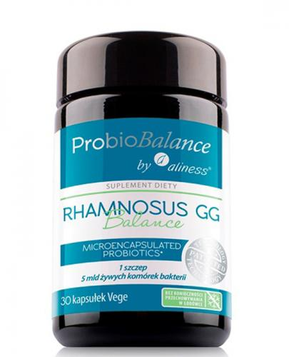 ALINESS PROBIOBALANCE Rhamnosus GG - 30 kaps. - Apteka internetowa Melissa