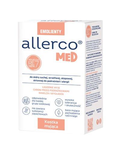 ALLERCO Kostka myjąca skóra skłonna do podrażnień i alergii - 100 g - Apteka internetowa Melissa