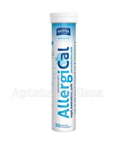 BIOTTER Allergical - 20 tabl.  - Apteka internetowa Melissa