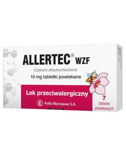 ALLERTEC WZF - 7 tabl. - Apteka internetowa Melissa