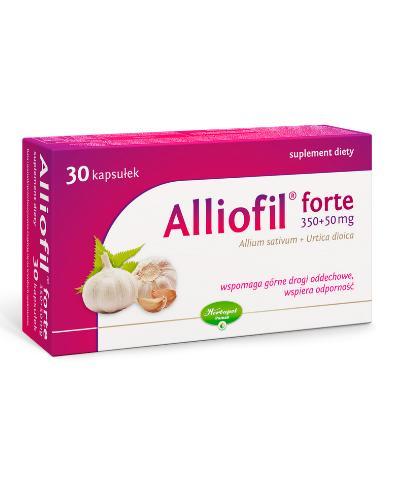ALLIOFIL FORTE 350 mg + 50 mg - 30 kaps.