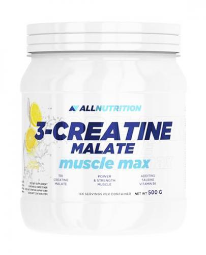 ALLNUTRITION 3-Creatine Malate muscle max, lemon - 500 g - Apteka internetowa Melissa