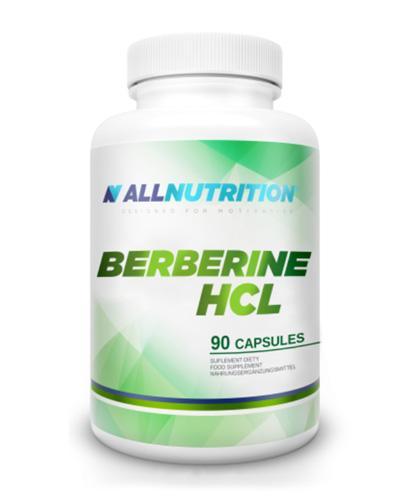 ALLNUTRITION BERBERINE HCL - 90 kaps. Na odchudzanie i odporność - cena, opinie, dawkowanie - Apteka internetowa Melissa