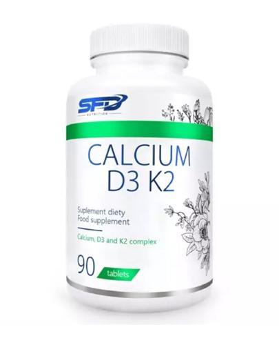 ALLNUTRITION Calcium D3 + K2 - 90 kaps. - Apteka internetowa Melissa