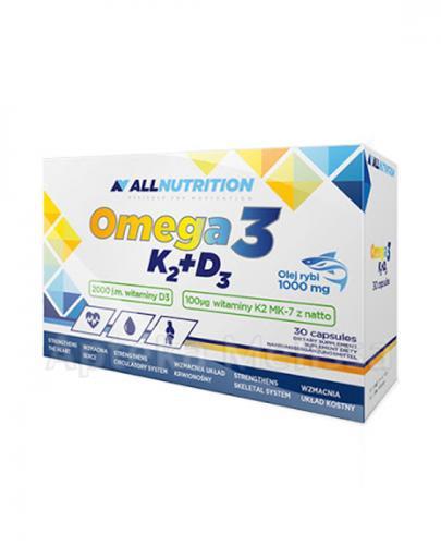 ALLNUTRITION Omega-3 + K2 + D3 - 30 kaps. - Apteka internetowa Melissa