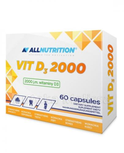 ALLNUTRITION VIT D3 2000 - 60 kaps. - Apteka internetowa Melissa
