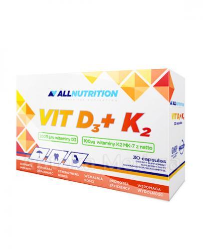 ALLNUTRITION VIT D3 + K2 - 30 kaps. - Apteka internetowa Melissa