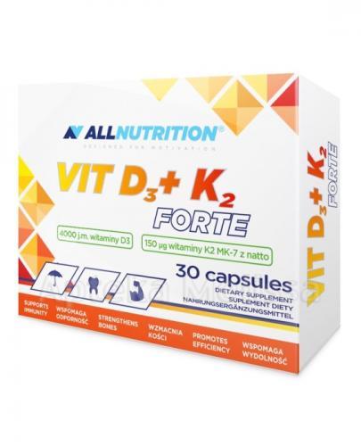 ALLNUTRITION VIT D3 + K2 Forte - 30 kaps. - Apteka internetowa Melissa