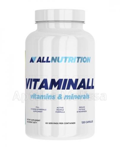 ALLNUTRITION Vitaminall - 120 kaps. - Apteka internetowa Melissa