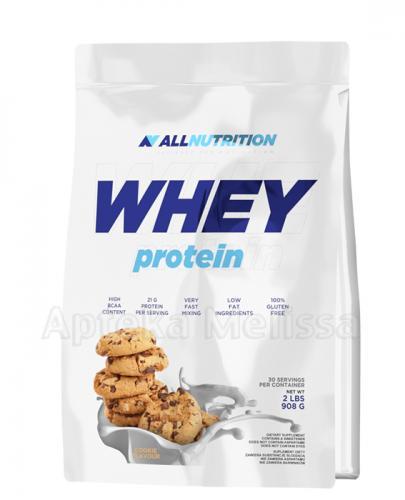ALLNUTRITION Whey protein cookies - 908 g - Apteka internetowa Melissa