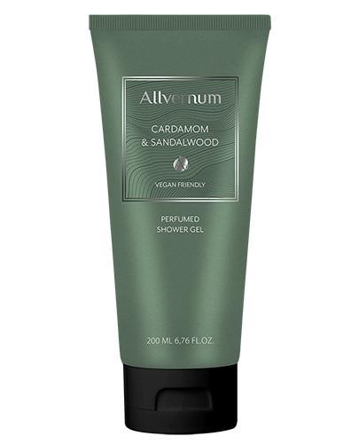 Allvernum Perfumowany Żel pod prysznic Cardamom&Sandalwood - 200 ml - cena, opinie, właściwości