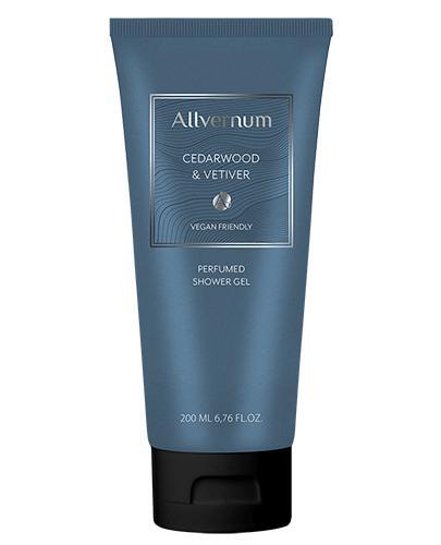 Allvernum Perfumowany Żel pod prysznic Cedarwood&Vetiver - 200 ml - cena, opinie, właściwości - Apteka internetowa Melissa