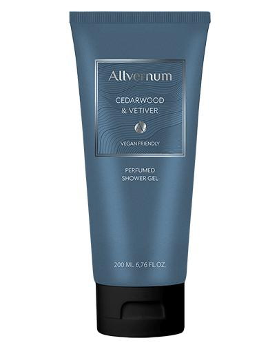 Allvernum Perfumowany Żel pod prysznic Cedarwood&Vetiver - 200 ml - cena, opinie, właściwości - Drogeria Melissa