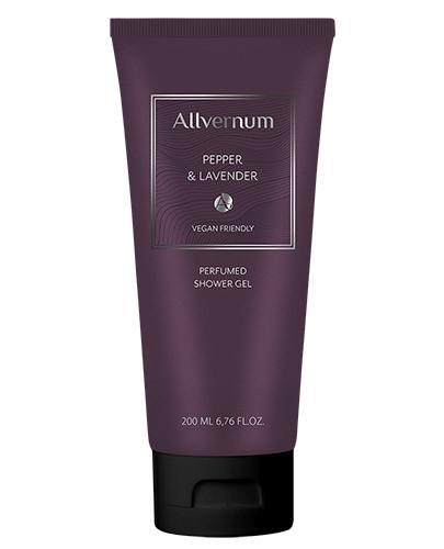 Allvernum Perfumowany Żel pod prysznic Pepper&Lavender - 200 ml - cena, opinie, właściwości