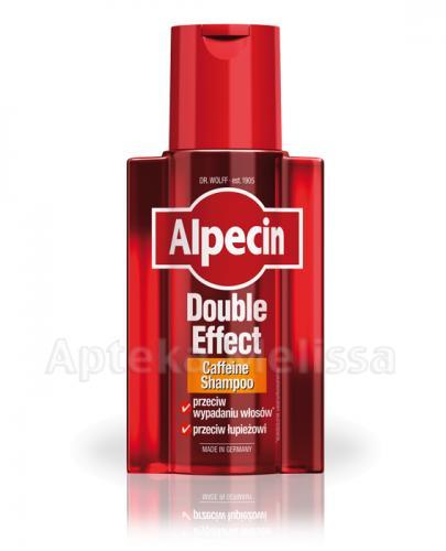 ALPECIN Double Effect Szampon z kofeiną - 200 ml - Apteka internetowa Melissa