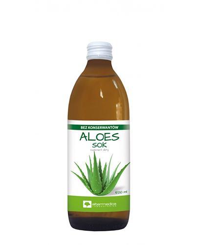 Alter Medica Aloes 100% sok - 500 ml - cena, opinie, właściwości