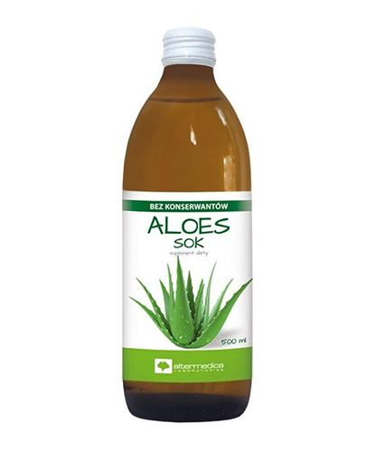ALTER MEDICA Aloes 100% Sok z aloesu - 1000 ml - Drogeria Melissa