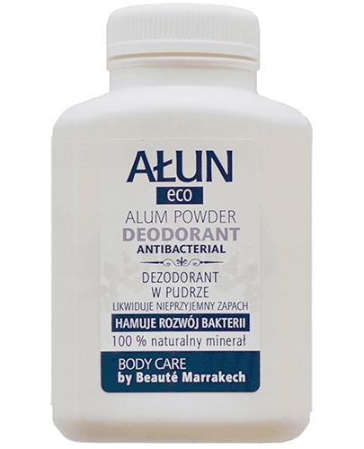 Ałun Eco Dezodorant w pudrze- zasypka do stóp dłoni i pach 100% Naturalny minerał - 120 g - Apteka internetowa Melissa