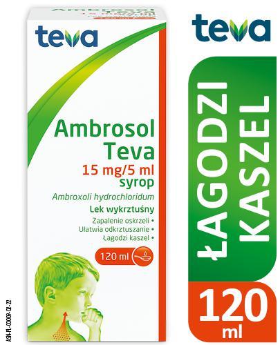 AMBROSOL TEVA Syrop 15 mg/5ml - 120 ml Data ważności 2021.06.30 - Apteka internetowa Melissa
