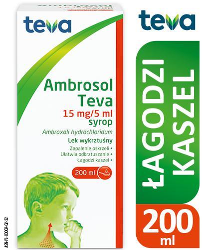 AMBROSOL TEVA Syrop 15 mg/5ml - 200 ml - Apteka internetowa Melissa