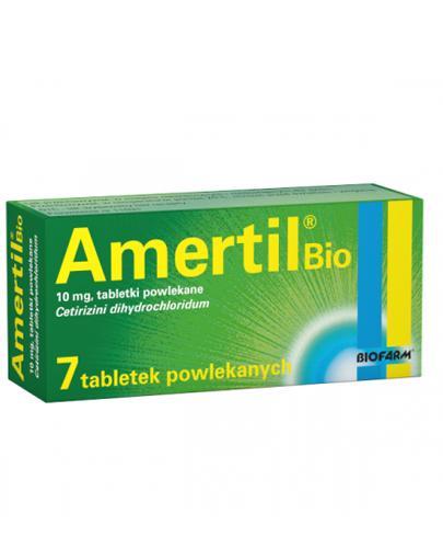 Amertil Bio 10 mg - 7 tabl. Lek na objawy alergii