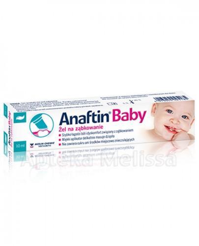 ANAFTIN BABY Żel na ząbkowanie - 10 ml - Apteka internetowa Melissa