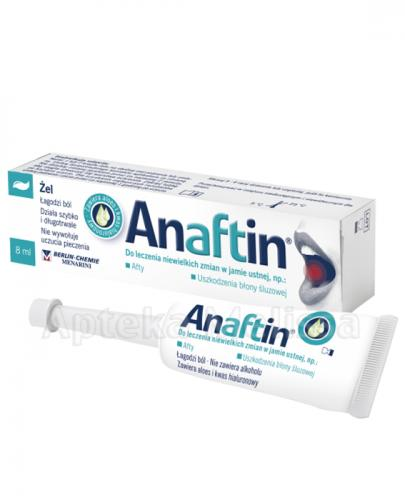 ANAFTIN Żel - 8 ml