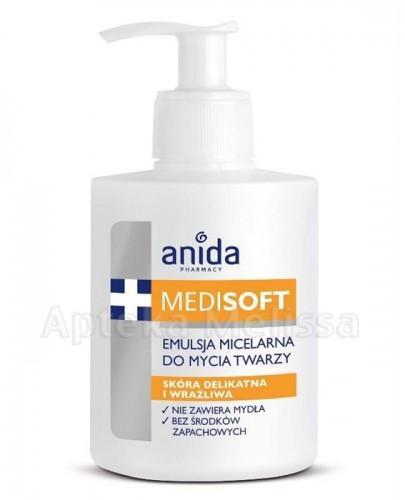 ANIDA MEDISOFT Emulsja micelarna do mycia twarzy - 300 ml - Apteka internetowa Melissa