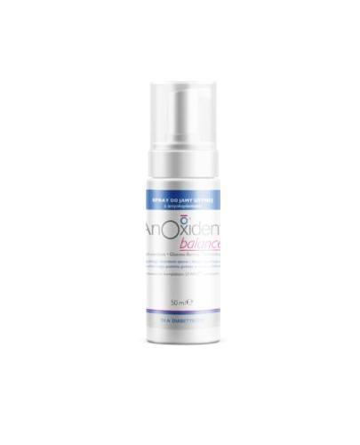 Anoxident Balance Spray do jamy ustnej z antyoksydantami - 50 ml Dla diabetyków Data ważności 2021.03.31 - Apteka internetowa Melissa