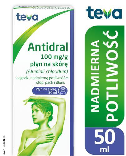 ANTIDRAL - lek na nadmierną potliwość - 50 ml - cena, opinie, dawkowanie - Apteka internetowa Melissa