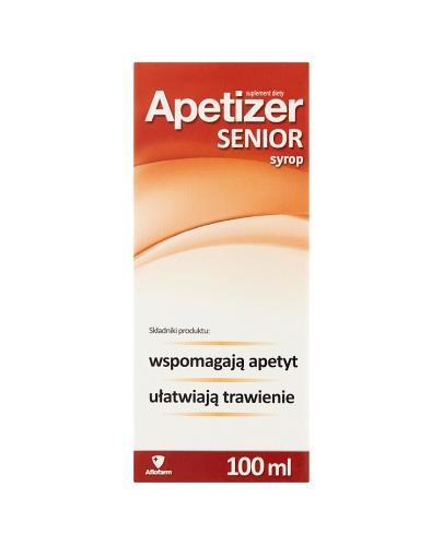 APETIZER SENIOR Syrop - 100 ml - Apteka internetowa Melissa