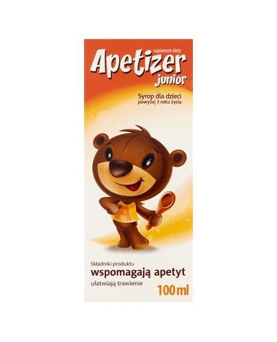 APETIZER Syrop dla dzieci - 100 ml - Drogeria Melissa