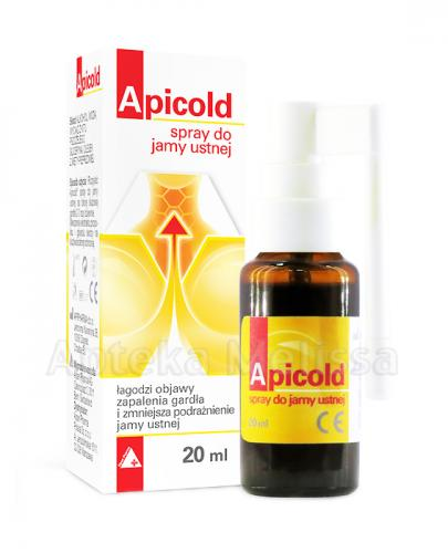 APICOLD Spray do jamy ustnej - 20 ml - Drogeria Melissa