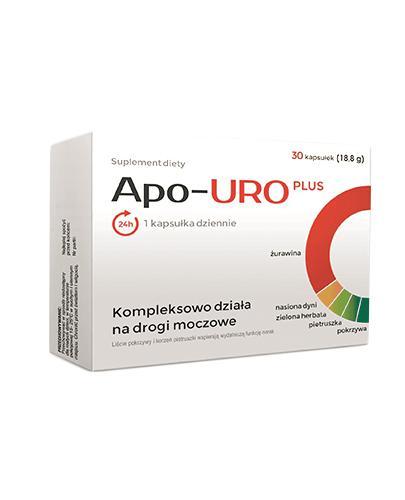 APO-URO Plus - 30 kaps.  - Apteka internetowa Melissa