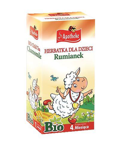 APOTHEKE BIO Herbatka dla dzieci rumianek - 20 sasz. - Apteka internetowa Melissa