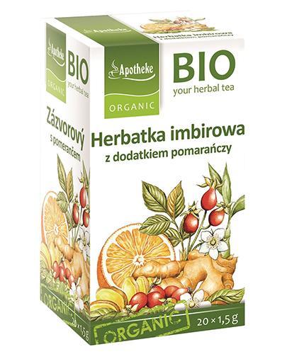 APOTHEKE BIO Herbatka imbir z pomarańczą - 20 sasz.