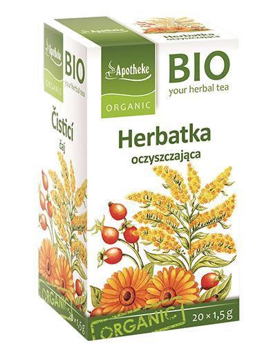 APOTHEKE BIO Herbatka oczyszczająca - 20 sasz.