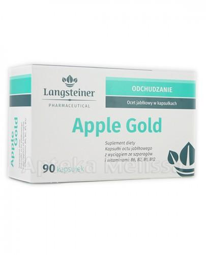 LANGSTEINER APPLE GOLD Ocet jabłkowy w kapsułkach - 90 kaps. - Apteka internetowa Melissa