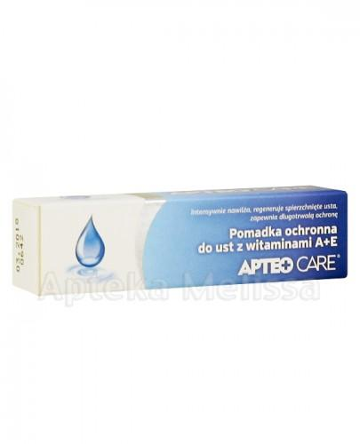 APTEO CARE Pomadka ochronna do ust z witaminami A+E - 3,8 g