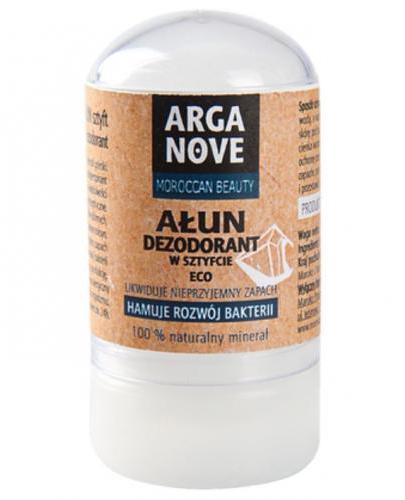 Arganove Ałun dezodorant w sztyfcie eko - 55 g - cena, opinie, właściwości - Apteka internetowa Melissa