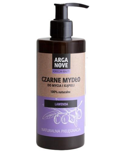 Arganove Czarne mydło do mycia i kąpieli Lawenda 100% naturalne - 300 ml - cena, opinie, opakowanie - Apteka internetowa Melissa