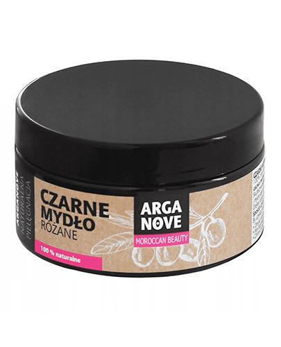 Arganove Czarne mydło różane 100% naturalne - 100 g - cena, opinie, wskazania - Apteka internetowa Melissa