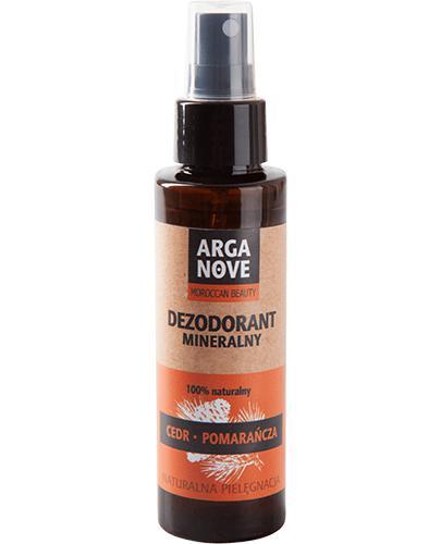 Arganove Dezodorant mineralny ałunowy Cedr - pomarańcza 100% naturalny - 100 ml - cena, opinie, wskazania - Apteka internetowa Melissa