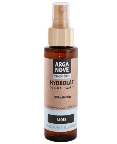 Arganove Hydrolat do ciała i twarzy Aloes 100% naturalny - 100 ml - cena, opinie, skład - Apteka internetowa Melissa