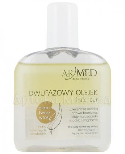 ARMED Naturalny olejek dwufazowy z leczniczą solanką jodowo-bromową Miód i Mleko - 130 ml - Apteka internetowa Melissa