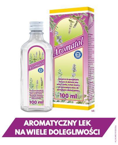 AROMATOL - 100 ml Lek na przeziębienie - cena, opinie, wskazania