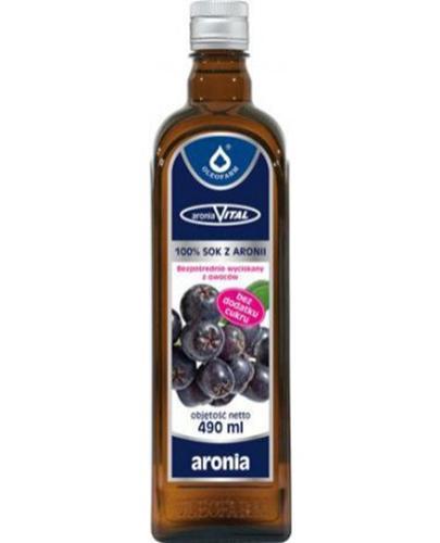 ARONIAVITAL Sok z owoców aronii - 490 ml - Apteka internetowa Melissa