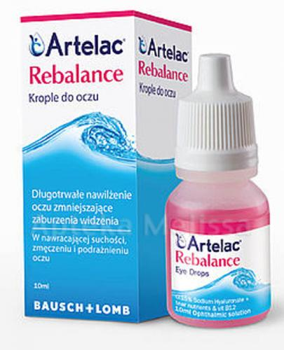 ARTELAC REBALANCE Krople do oczu - 10 ml  - Apteka internetowa Melissa
